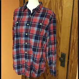 American eagle outfitters grunge emo flannel shirt